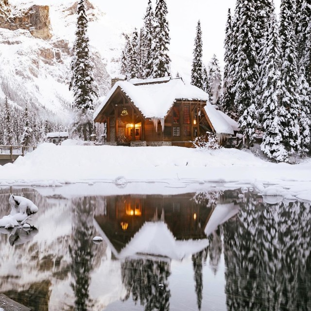 Already dreaming of a winter wonderland? Weve found your escapehellip