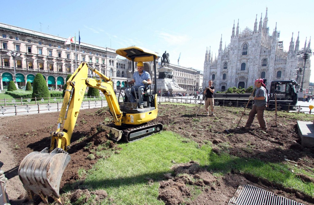 Comuni: Milano; al via 'svolta verde' in piazza Duomo