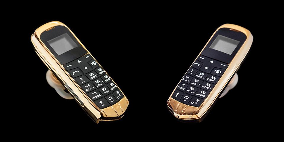 золотой мобильный