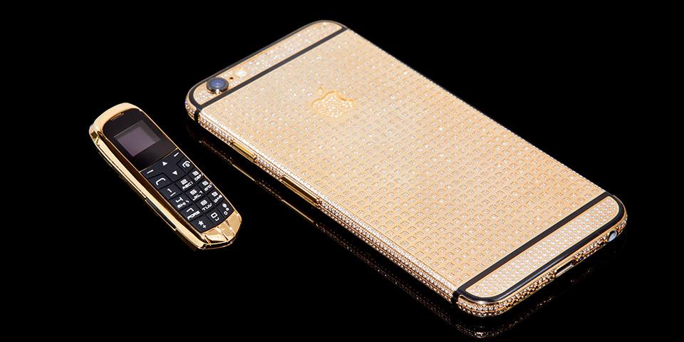 золотой мобильный3