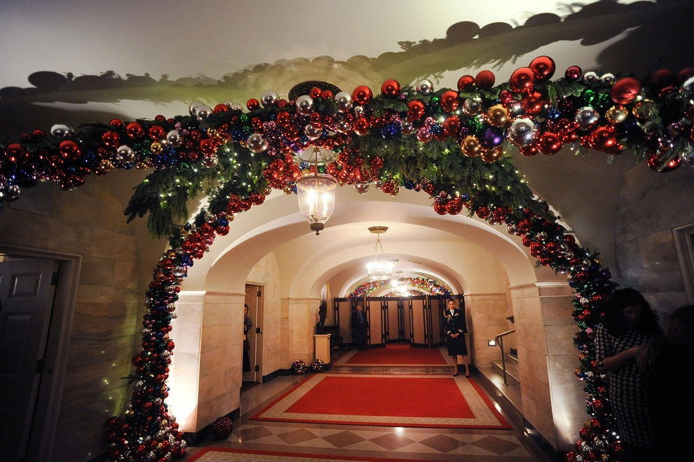 2012 White House decorations