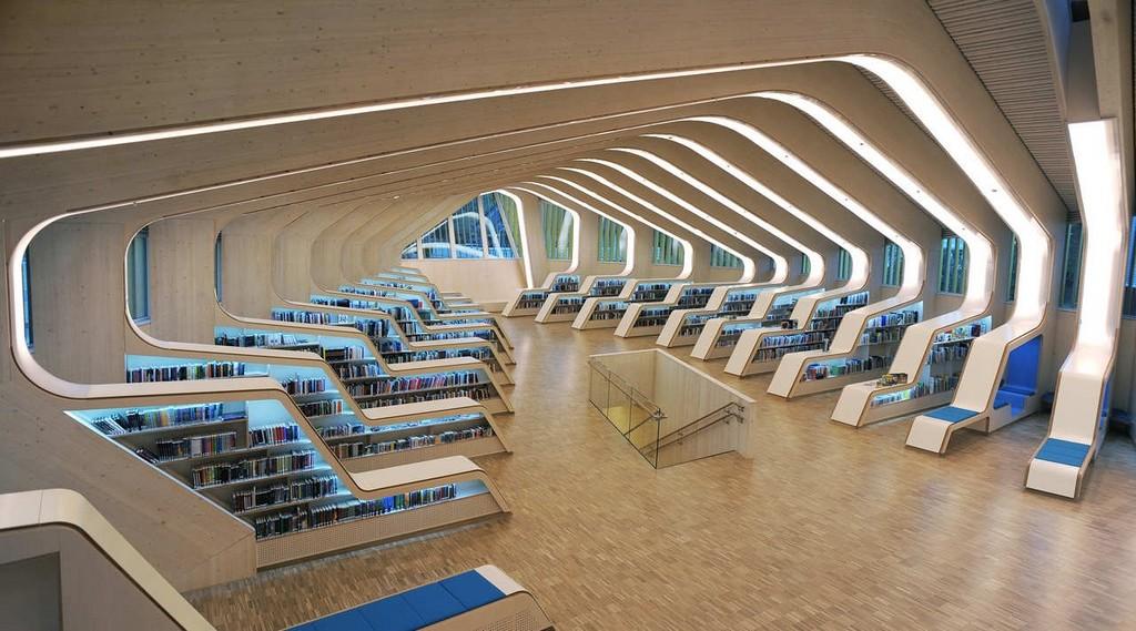 Библиотечный и культурный центр коммуны Веннесла, Норвегия