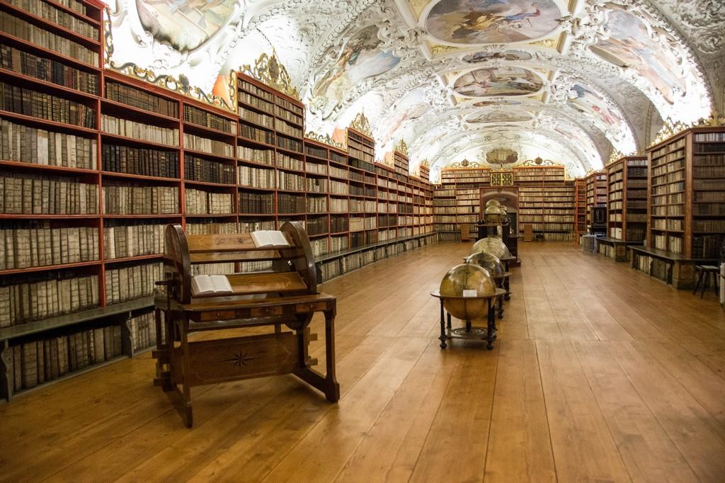 Библиотека при Страговском монастыре, Прага, Чехия