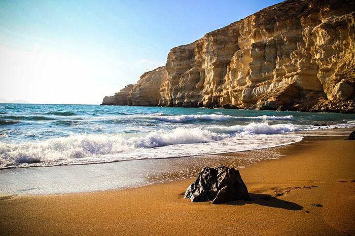 Крит. Красный пляж