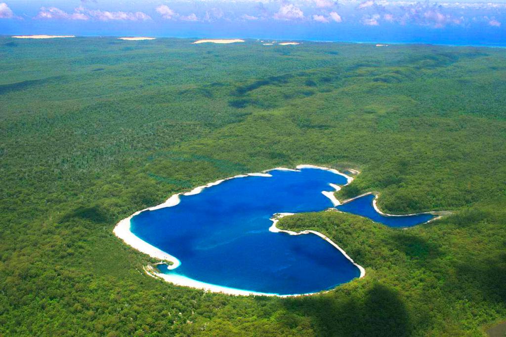 Остров Фрейзер в Австралия