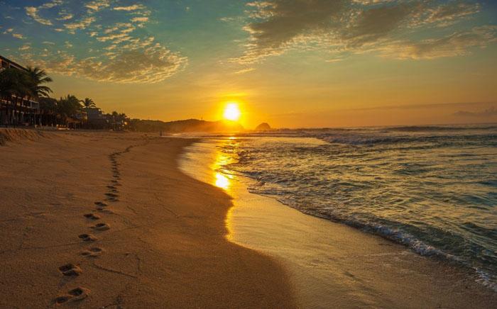 Пляж Циполит в Мексике2
