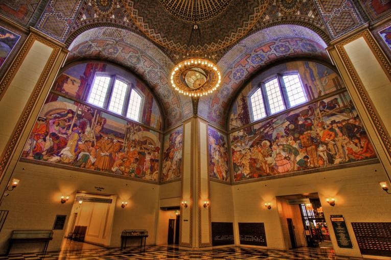 Центральная библиотека Ричарда Риордана, Лос-Анджелес, США