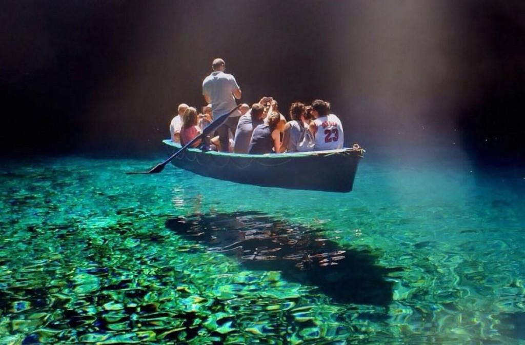 озеро мелиссини