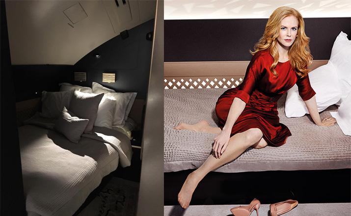 «Уау! Самый восхитительный полет в мире! Спасибо, Etihad Airways за все #theresidence»