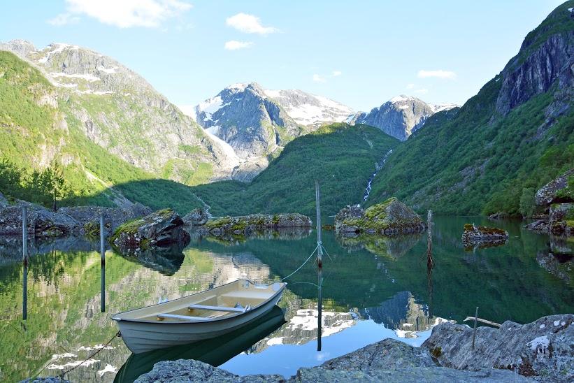 6й день - озеро на леднике