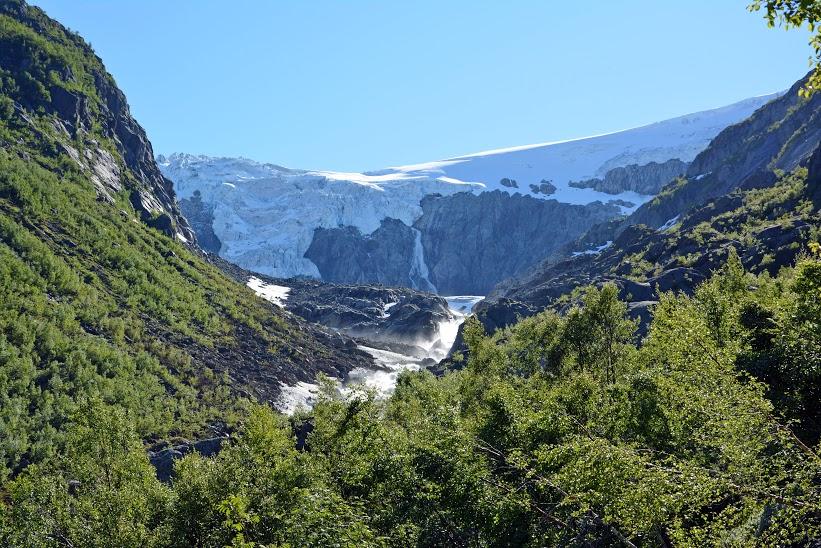 6й день -поход на ледник 3