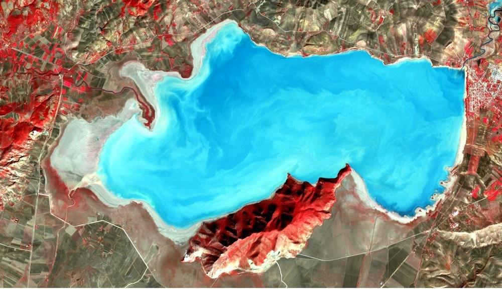 Озеро Ишкель  Тунис. Фото сделано 14 ноября 2001 года