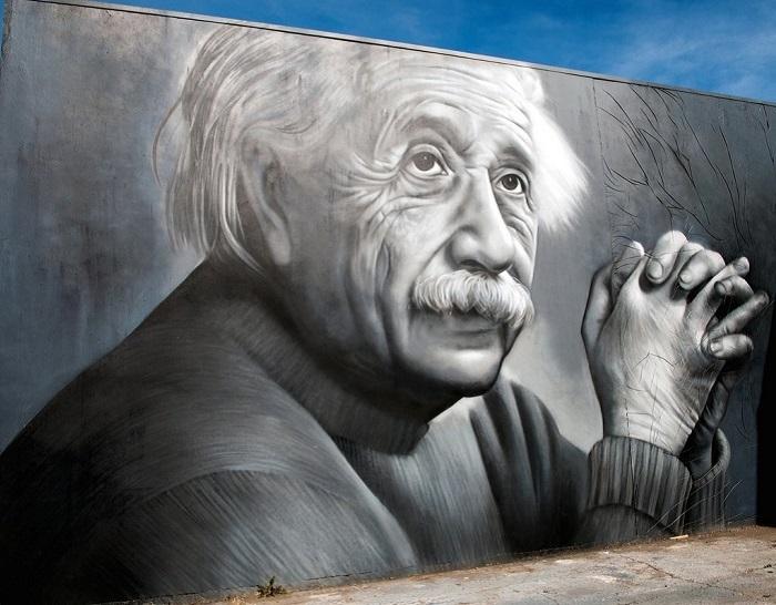 Портрет Альберта Эйнштейна от Оуэна Диппи (Owen Dippie)