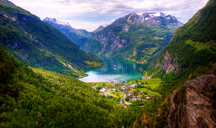 Гейрангерфьорд,Норвегия