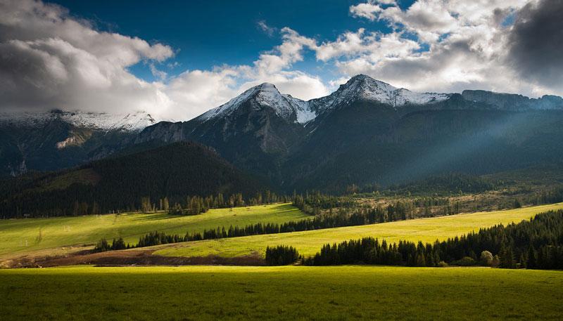 Горы Татры, Польша