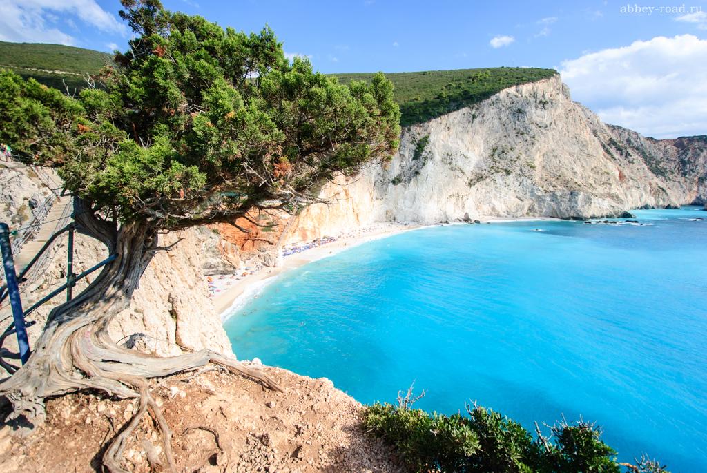 Пляж Порто-Кацики, Лефкас, Греция