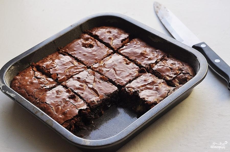 Брауни из какао рецепт с фото пошагово