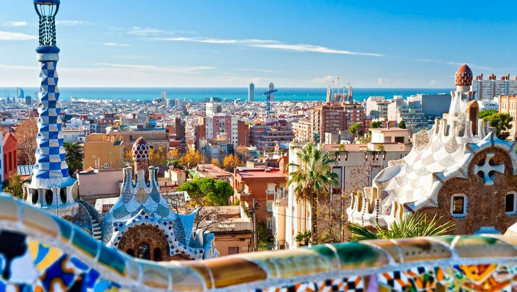 Испания-Барселона-видео