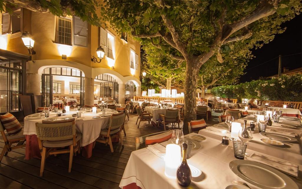 отель byblos - Ресторан Rivea