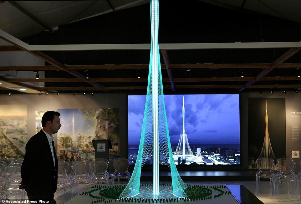 Mideast Emirates Dubai Tower