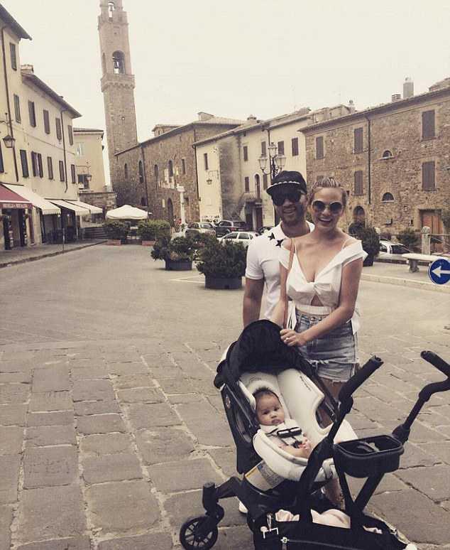 Джона Ледженда и Крисси Тейген в Тоскане