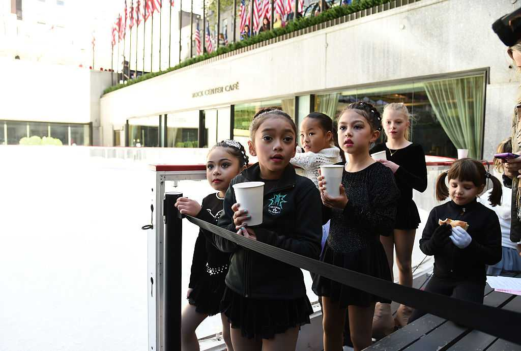 The Rink At Rockefeller Center 80th Anniversary Season Opening