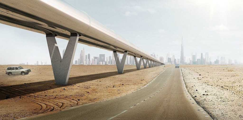 Hyperloop One Илон Маск