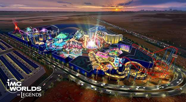 Самый большой парк развлечений в мире построят в Дубае