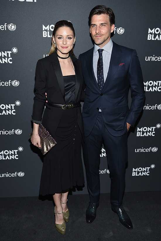 Оливия Палермо с мужем