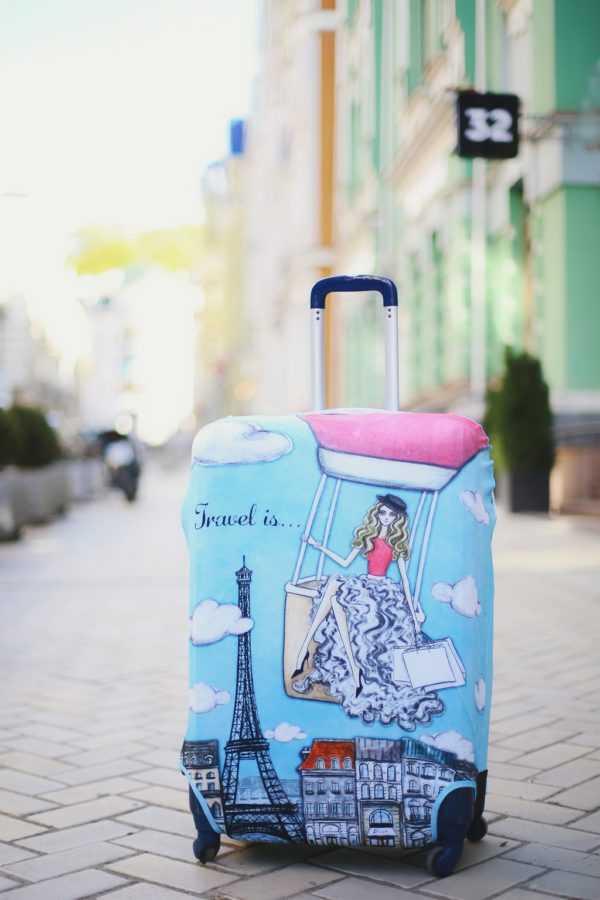 Чехлы для чемодана Travel is...
