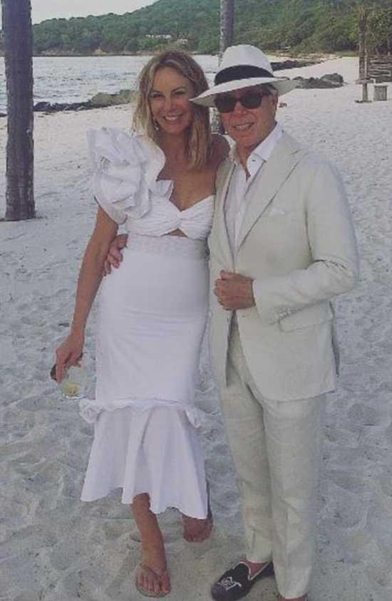 Томми Хилфигер со своей второй женой