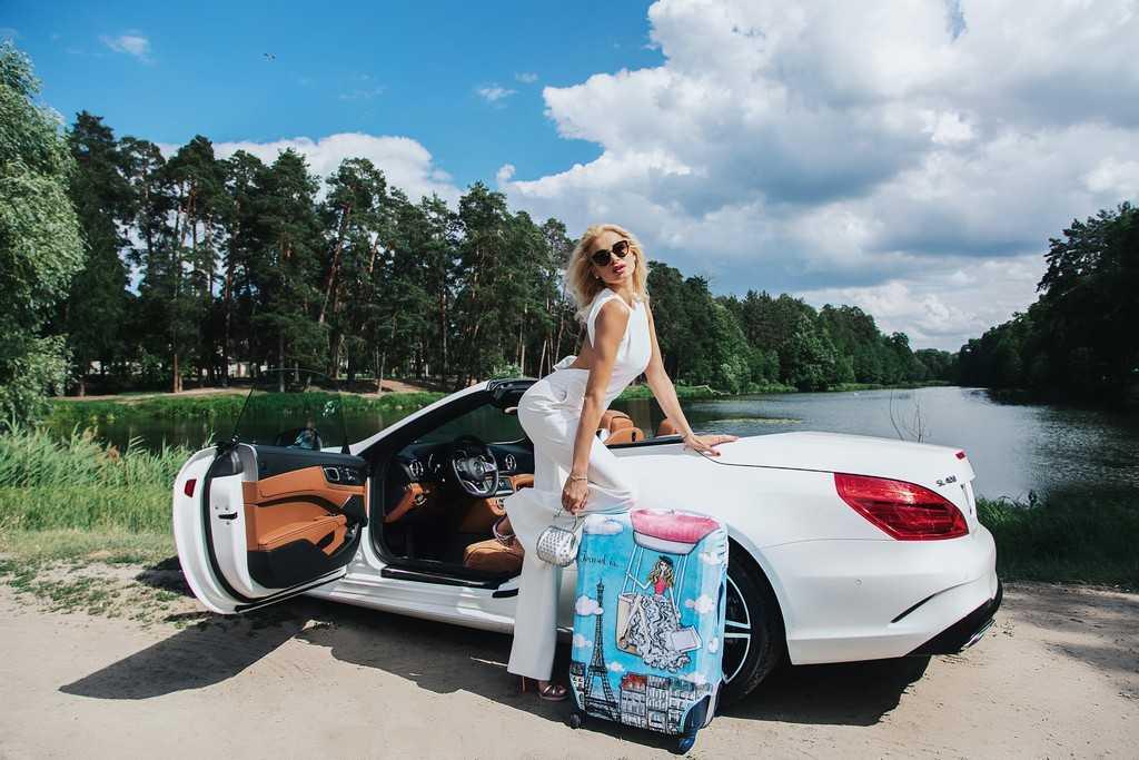 Чехол для чемодана Travel is..., Одежда Elena Burba, Mercedes-Benz SL