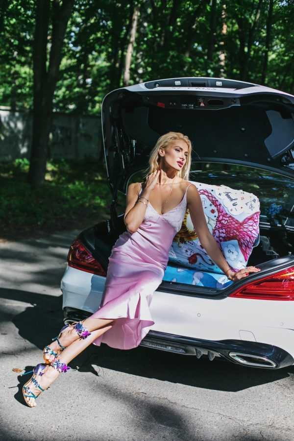 Чехол для чемодана Travel is..., Платье Elena Burba, Mercedes-Benz SL