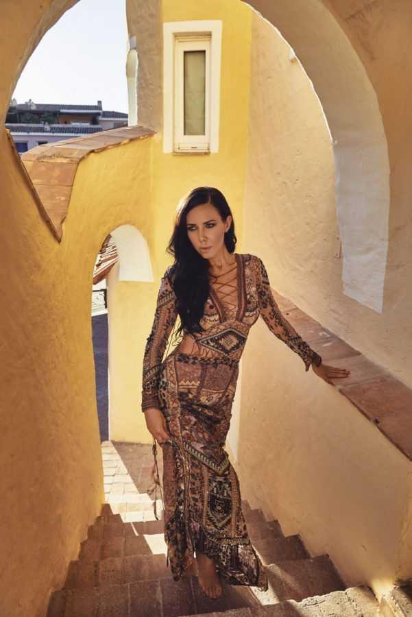 Локация: Порто-Черво, Сардиния, Платье Roberto Cavalli