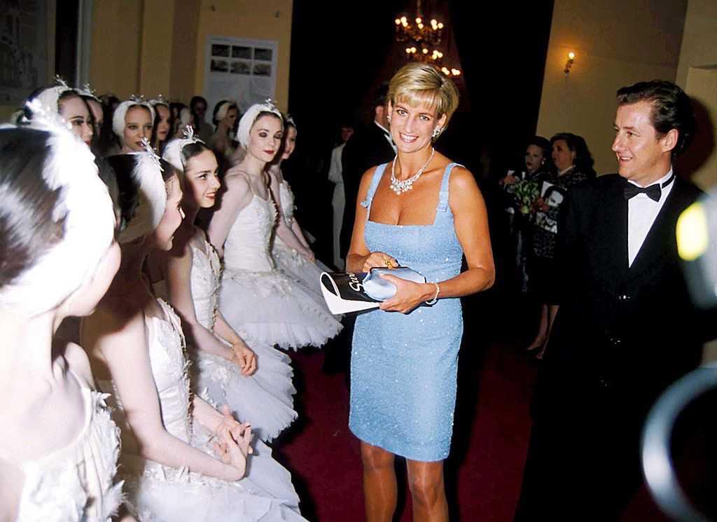 Swan Lake English National Ballet, Princess Diana, Princessdianaretro3