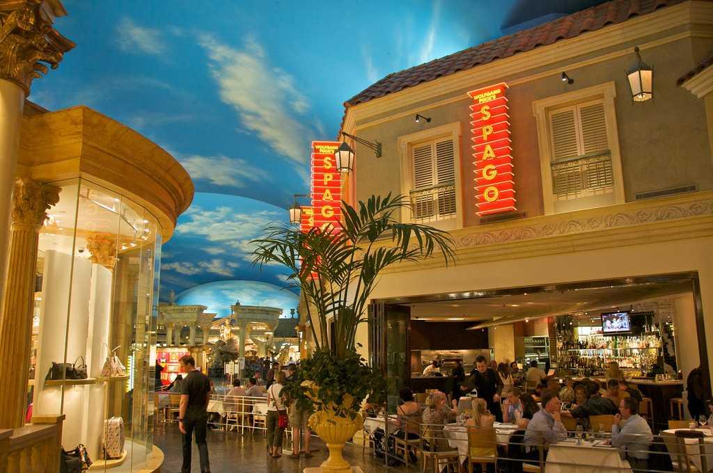 Ресторан Spago, Лас-Вегас