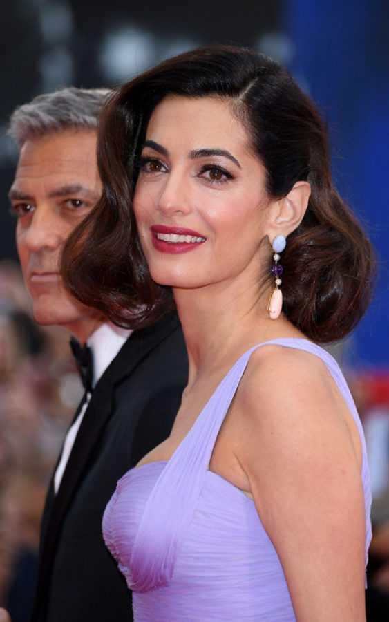 Амаль Клуни в Lorraine Schwartz