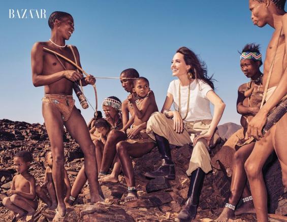 Фотосессия Harper`s Bazaar с Анджелиной Джоли
