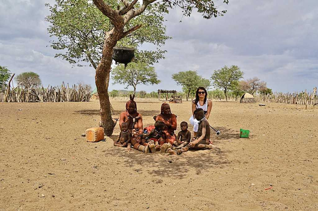 Племя химба, Намибия