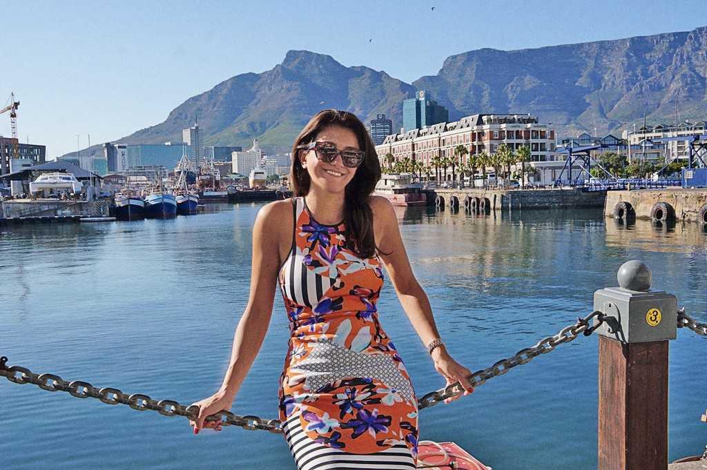 Светлана Матызик, Кейптаун.