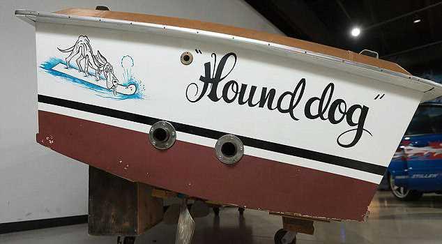 Лодка, принадлежавшая Элвису Пресли