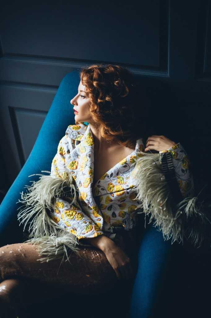 Жакет the COAT by Katya Silchenko, брюки A.M.G.