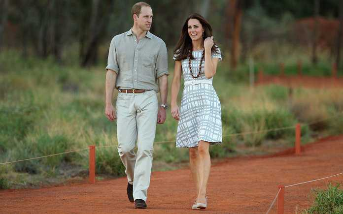 The Duke And Duchess Of Cambridge Tour Australia And New Zealand - Day 16