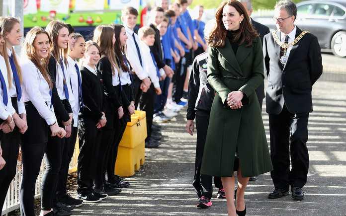 The Duchess Of Cambridge Visits Edinburgh