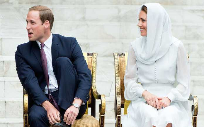 The Duke And Duchess Of Cambridge Diamond Jubilee Tour - Day 4