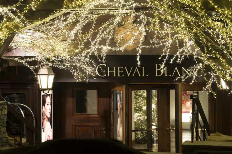 Новогодние акценты Cheval Blanc Courchevel