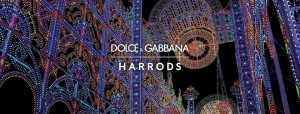 Dolce & Gabbana и Harrods