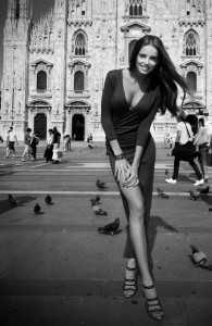 Анна Андрес - модель, телеведущая
