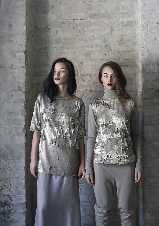 Designer - Ruslana L'ah & Evgeniya De - stylist Olga Piterskaya - models Daria Kudryashova Katerina Khimich