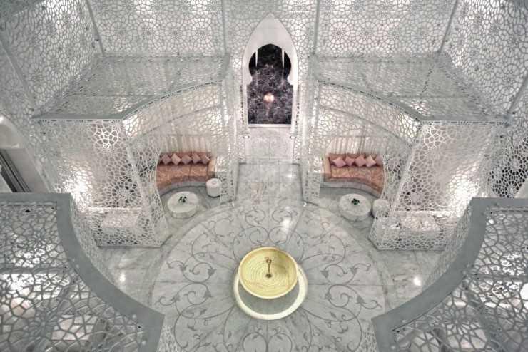Спа отеля Royal Mansour